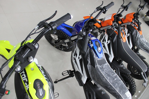 moto niño starker starkids naranja azul verde negro 2020