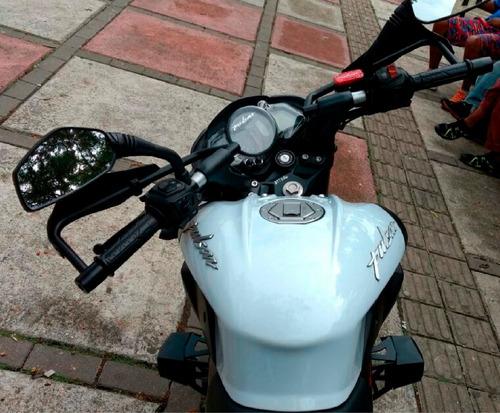 moto ns 200 pro modelo 2016 blanca (medellín) negociable