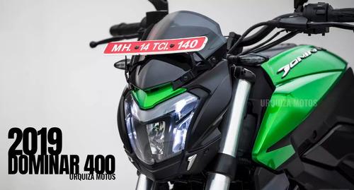 moto nueva pulsar bajaj dominar 400 urquiza 2020 ug 0km