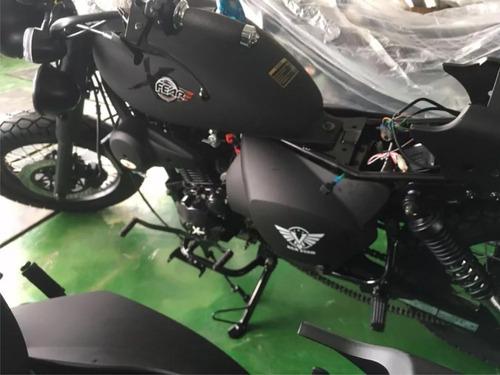 moto pandillera xfear 250cc tipo harley radiador alarma usb