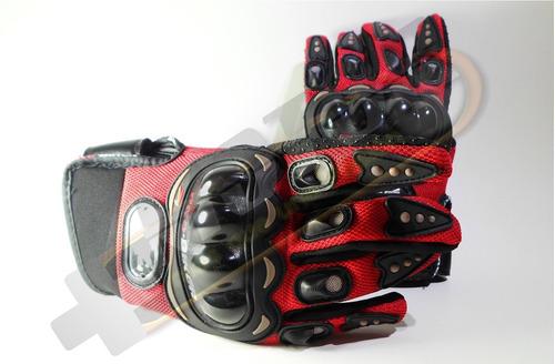 moto para guantes