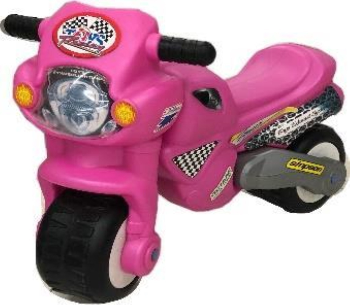 Moto Para Niña Juguete Rosa Nuevo Montable Tack Tick QdsCrthx