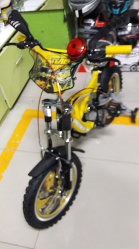moto para niño 3 a 5años doble suspension
