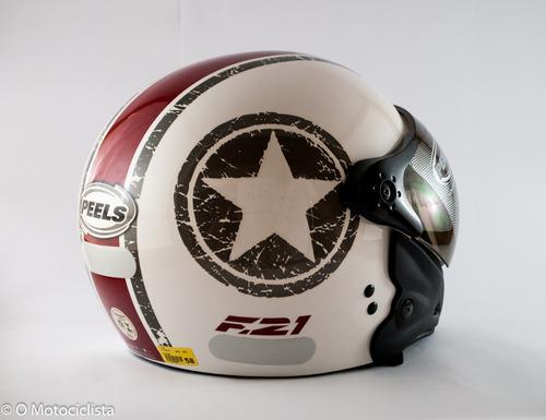 moto peels capacete