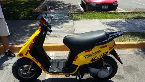 moto piaggio typhoon 80cc