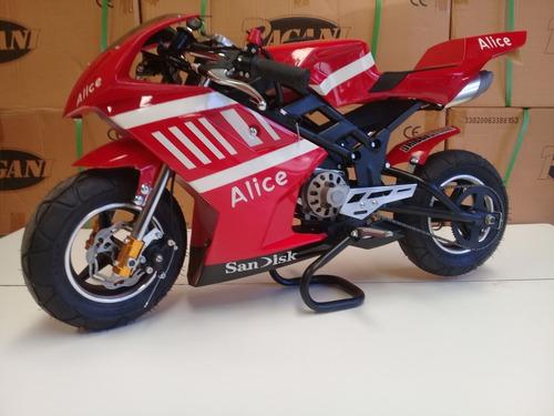 moto  pista 49 cc 2t pagani