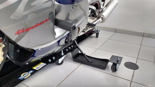 moto plataforma para movimentar motos até 560kg - tr-4000hd