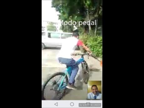 moto plegable electrica y de pedal