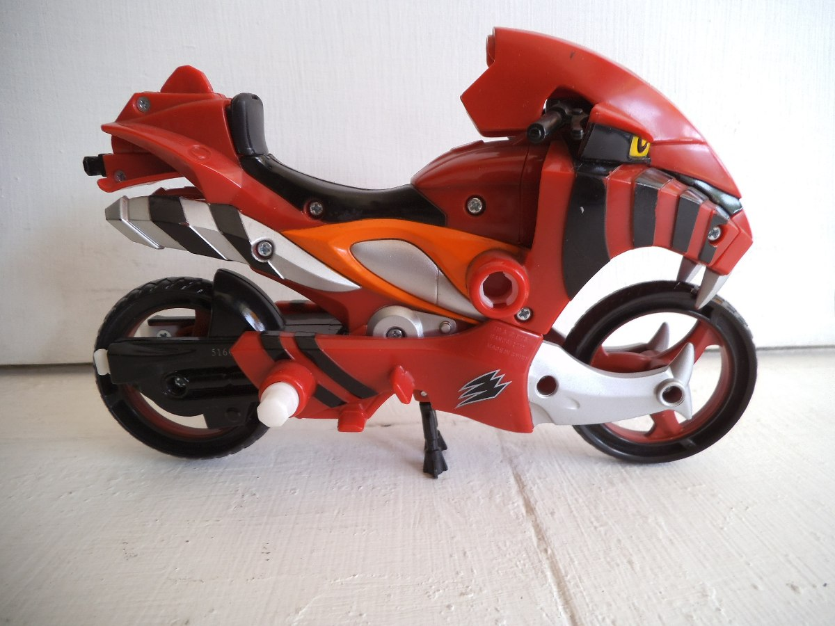 moto power rangers bandai en mercado libre. Black Bedroom Furniture Sets. Home Design Ideas