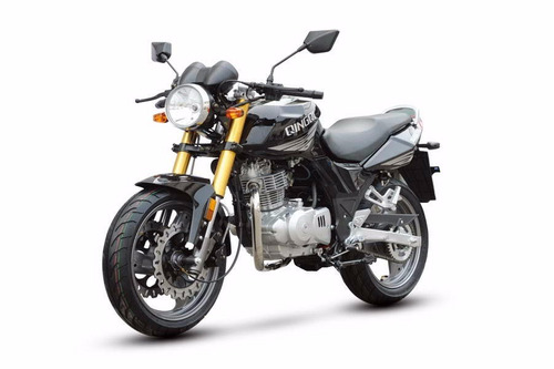 moto  qingqi / mod qm250-2d sport plomo/rojo año 2015