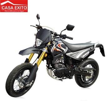 moto qingqi / modelo qm200gy-ba color plomo / año 2014 200cc