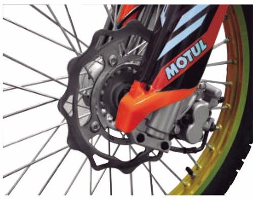 moto qingqi qm200gy-b(bsd)y negro / naranja año 2016