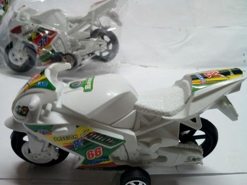moto r1 de carrera  friccion capitán centella nueva eegalo