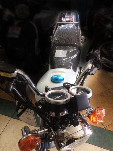 moto ranger 150at-10 150cc clasica año 2018 blanca