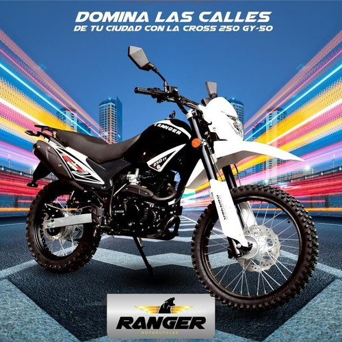 moto ranger 250 gy-50 año 2021