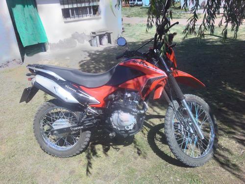 moto roja