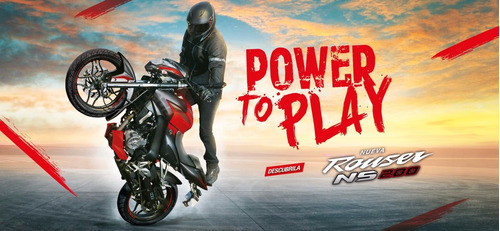 moto rouser 200 ns nacked sport 0km