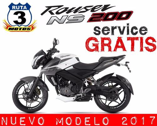 moto rouser 200 ns nacked sport 0km consulte la promo