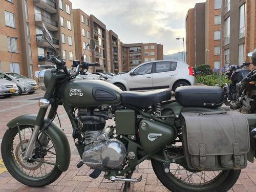 moto royal enfield classic 500