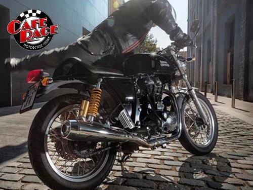 moto royal enfield continental gt 535 | roja o negra
