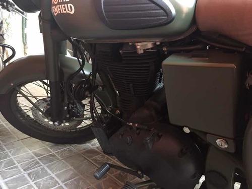 moto royal enfield royalclassic500green