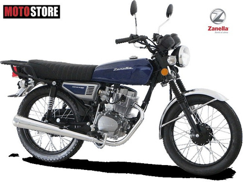 moto sapucai clásica 125 cc vintage azul zanella 0km 2017