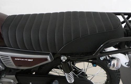moto sapucai clásica 125 cc vintage zanella 0km