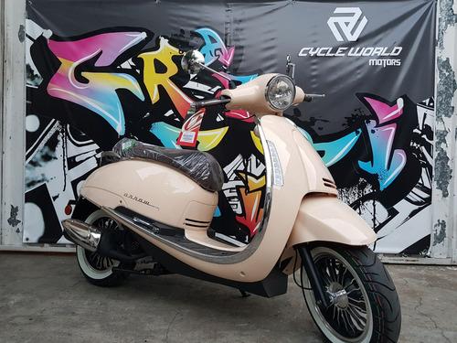 moto scooter beta 150 tempo 2020 0km baul y parabrisa a 19/7