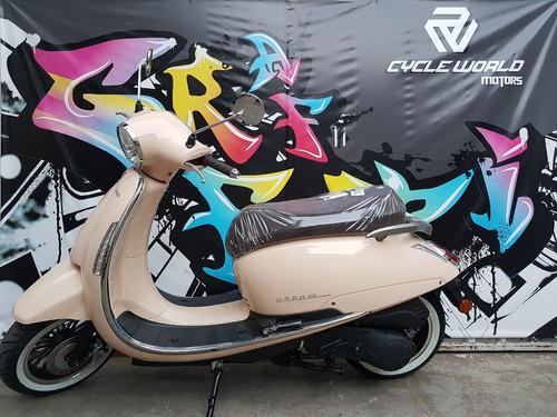 moto scooter beta 150 tempo 2020 0km baul y parabrisa a 30/7