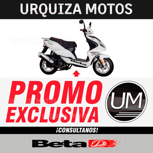 moto scooter beta arrow 150 r8 0km urquiza motos