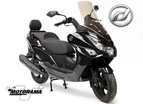 moto scooter daelim s3 advance 250
