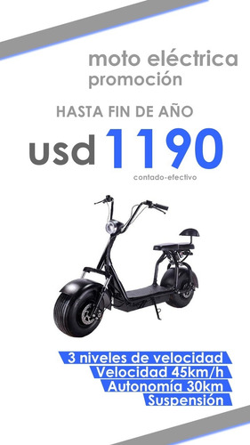 moto scooter eléctrica 1500 watts hasta 200 kg