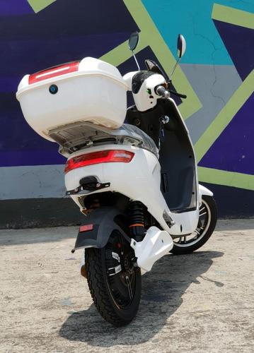 moto scooter eléctrica 500w batería litio extraible