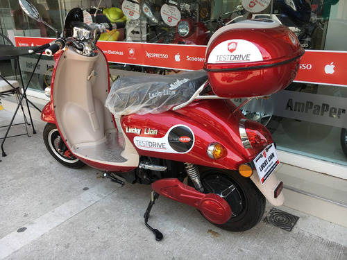 moto scooter eléctrica lucky lion cute 2