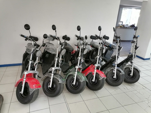 moto scooter electrica motor 1500w / bateria 20ah/ garantia