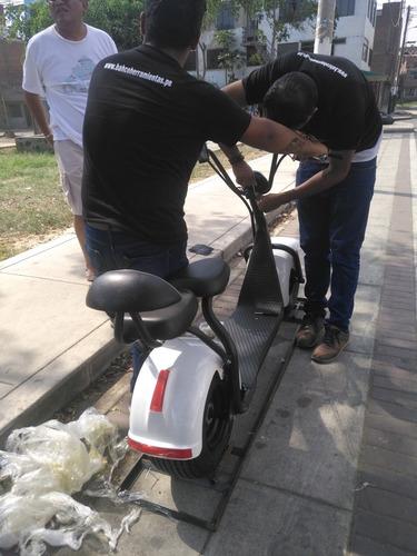 moto scooter eléctrico