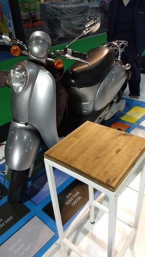 moto scooter eléctrico cute i baul y alarma