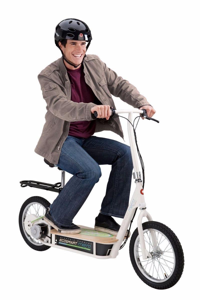 Moto Scooter Electrico Ecologico Razor Con Asiento Y