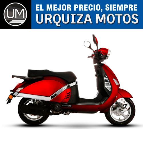 moto scooter gilera sg 150 jazz vintage 0km urquiza motos