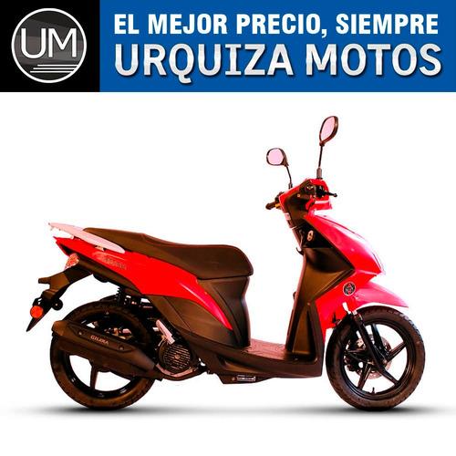 moto scooter gilera urbana 125 qm 0km urquiza motos