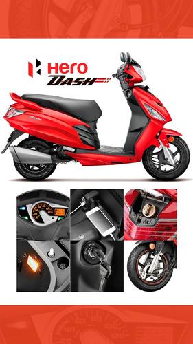 moto scooter hero dash