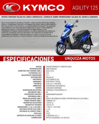 moto scooter kymco agility 125 motos