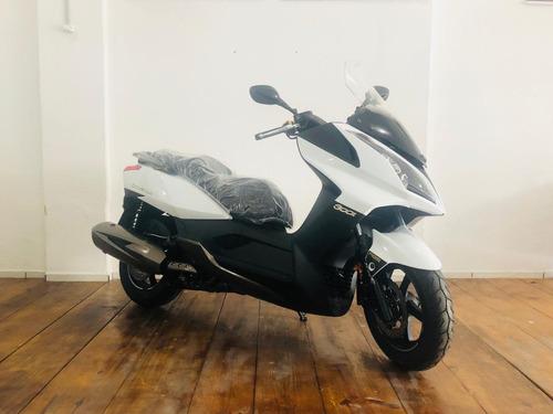 moto scooter kymco downtown 300i abs branca 2019 0km*citycom