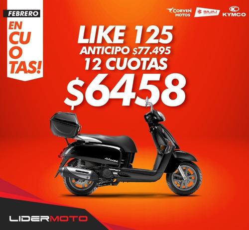 moto scooter kymco like 125 - 0km - lidermoto mejor precio !