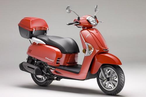 moto scooter kymco like 125 0km urquiza motos