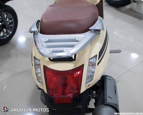 moto scooter kymco like 125 vintage retro 0km urquiza motos