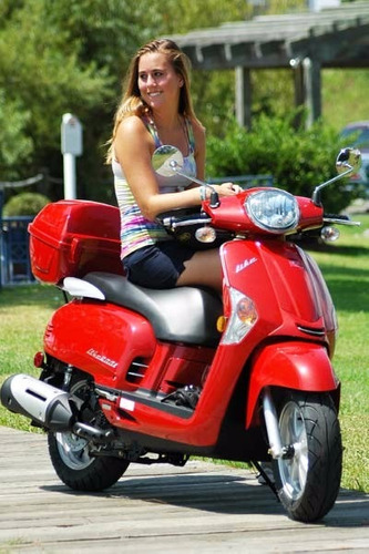 moto scooter kymco like 200