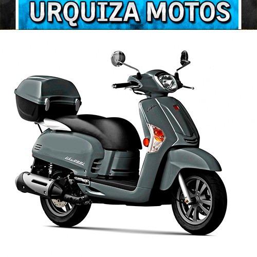 moto scooter kymco like 200