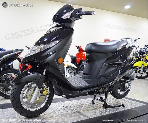 moto scooter suzuki an 125 0km elite urquiza motos
