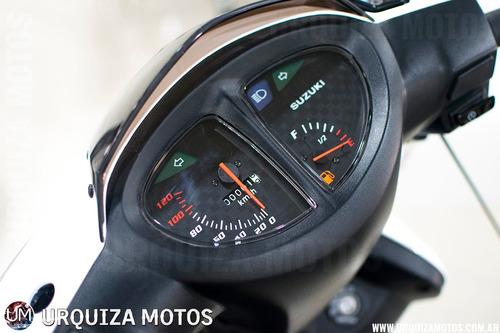 moto scooter suzuki an 125 automatica promo0km urquiza motos